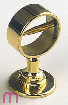 1 Seilträger Seilhalter 30 mm Handlaufseil Messing
