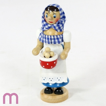 Räucherfrau Räucherfigur Kloßfrau Räuchermännchen