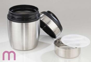 Thermobehälter Isolierbehälter Lebensmittelbehälter Edelstahl 1,8 L