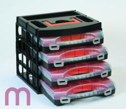 Werkzeugbox Systemkasten Sortimentsbox Sortimentskasten 4 Schubl
