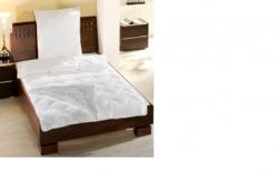 Vier Jahreszeiten Betten Set Steppbett 135x200 Kissen mit Kopfki
