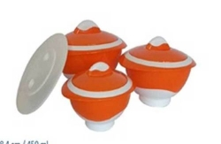 Thermo Sch�ssel Set Thermobeh�lter Thermosch�ssel 7 tlg. orange