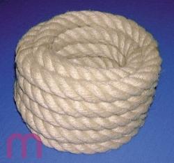 6 m Handlaufseil Seil Absperrseil natur Handlaufseile 30 mm = 4,32/m