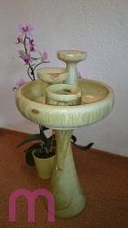 Zimmerbrunnen Springbrunnen Kaskadenbrunnen Keramik Zierbrunnen