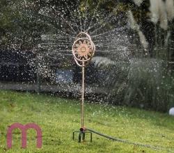 Wasserwelten 2 in 1 Rasensprenger Kreisregner  Sonne Kupfer